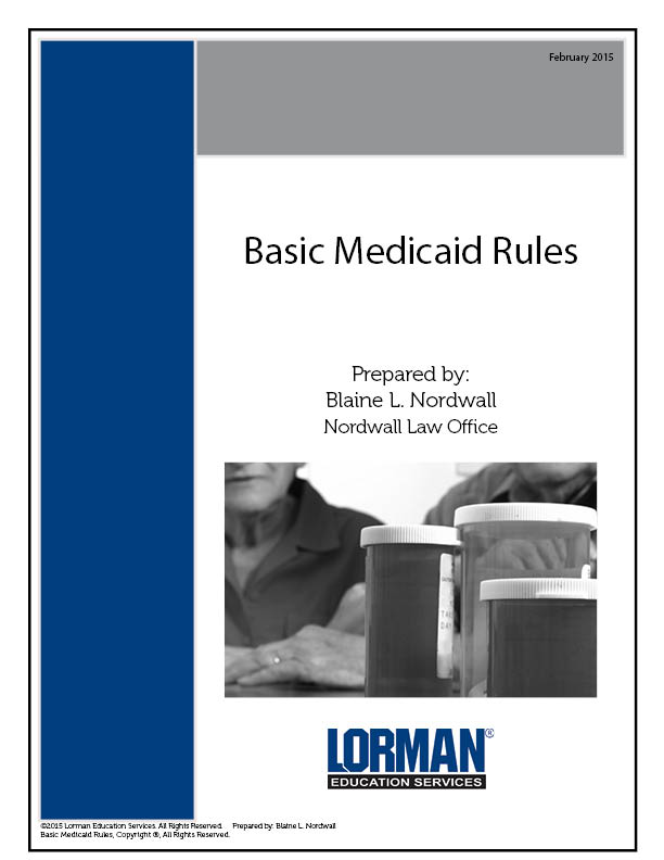 Basic Medicaid Rules